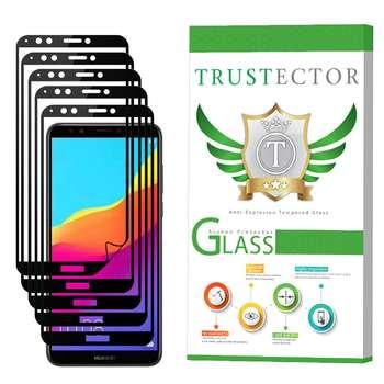 محافظ صفحه نمایش تراستکتور 3D مدل TSP مناسب برای گوشی موبایل هوآوی Y7 Prime 2018 بسته 5 عددی