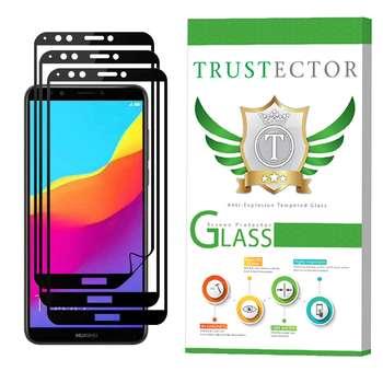 محافظ صفحه نمایش تراستکتور 3D مدل TSP مناسب برای گوشی موبایل هوآوی Y7 Prime 2018 بسته 3 عددی