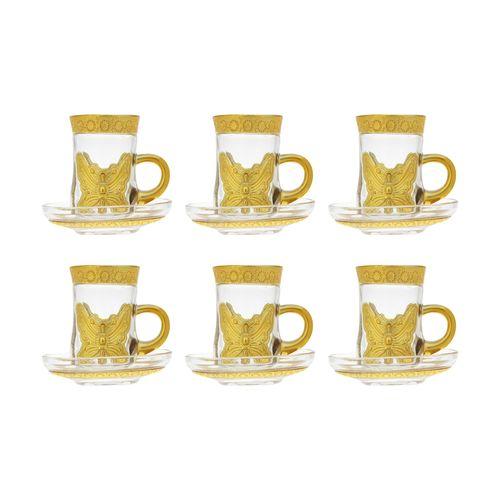 ست فنجان و نعلبکی 12 پارچه کد 20667