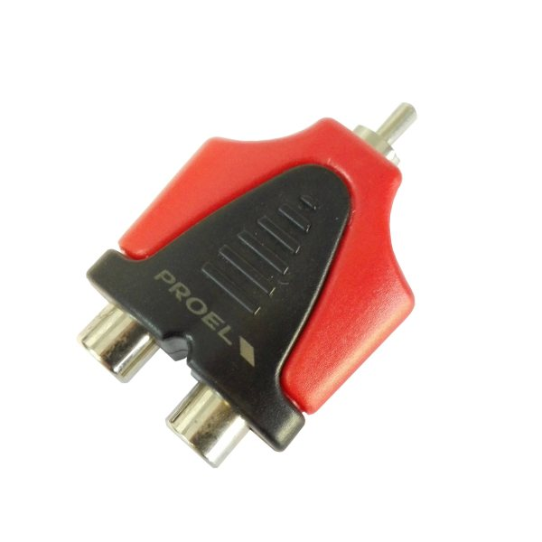 مبدل دو RCA مادگي به يك RCA نري  پروئل مدل AT230PRO