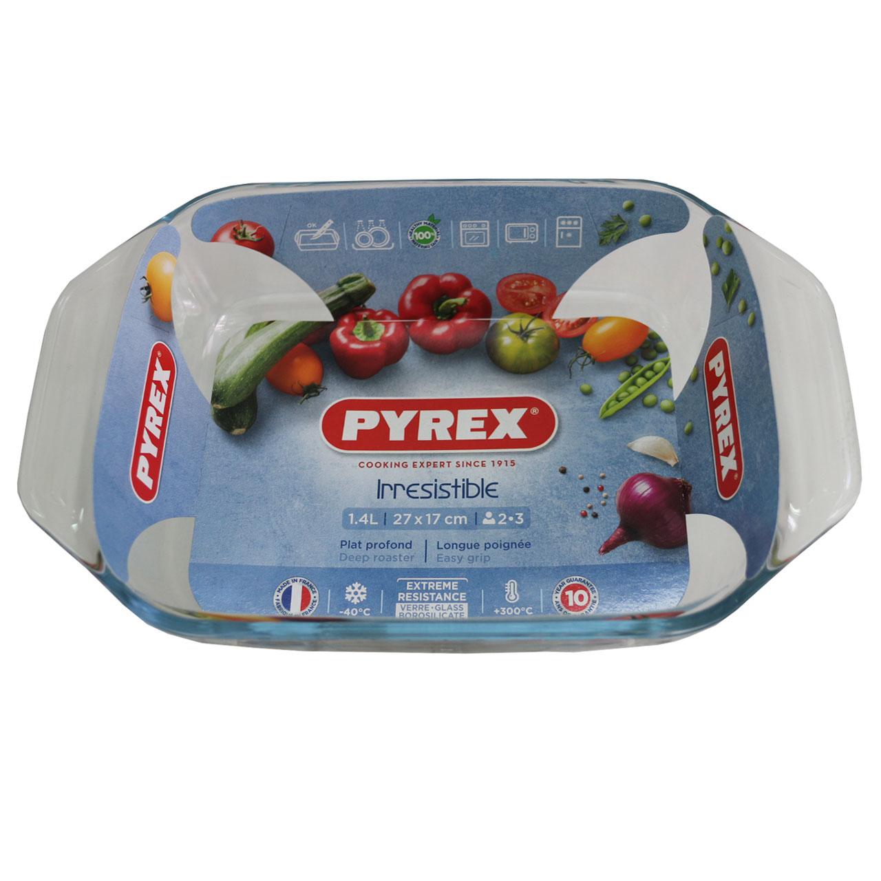 ظرف پخت پیرکس مدل irresistible