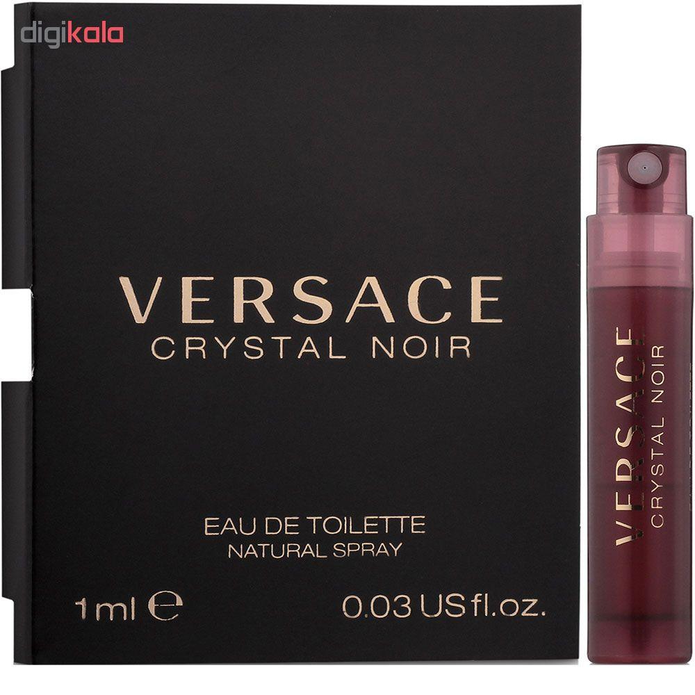 عطر جیبی زنانه ورساچه مدل Crystal Noir حجم 1 میلی لیتر