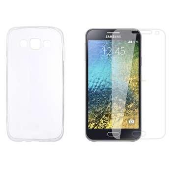 کاور مدل DO_01 مناسب برای گوشی موبایل سامسونگ Galaxy E5 به همراه محافظ صفحه نمایش