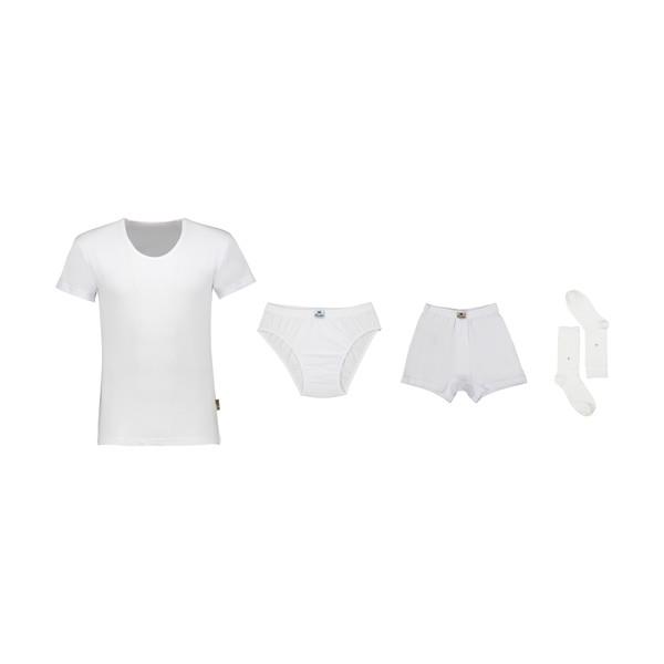 ست لباس زیر مردانه هوتن مدل H01 مجموعه 4 عددی