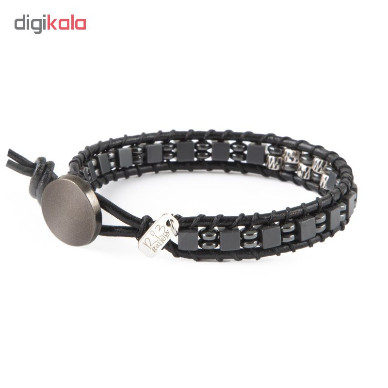 دستبند نقره مردانه ریسه گالری مدل Ri3-H1150-Silver