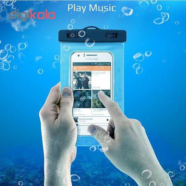 کیف ضد آب ام تی چهار مدل Diving مناسب برای گوشی موبایل تا سایز 6 اینچ  main 1 10