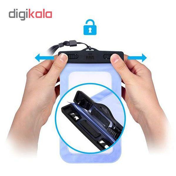 کیف ضد آب ام تی چهار مدل Diving مناسب برای گوشی موبایل تا سایز 6 اینچ  main 1 5