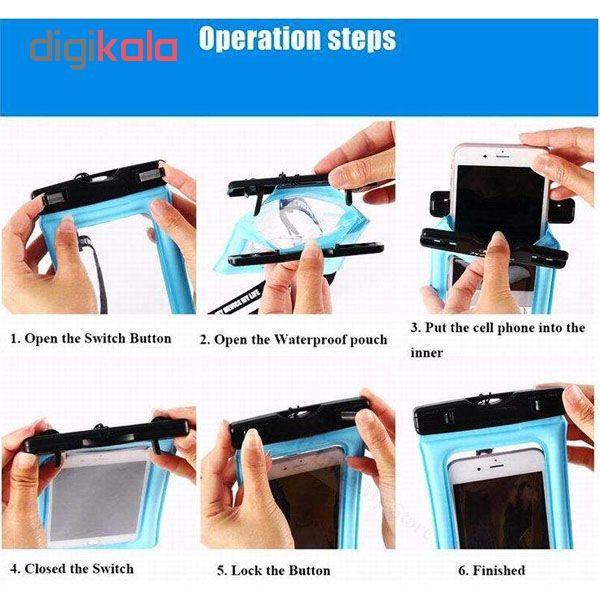 کیف ضد آب ام تی چهار مدل Diving مناسب برای گوشی موبایل تا سایز 6 اینچ  main 1 6