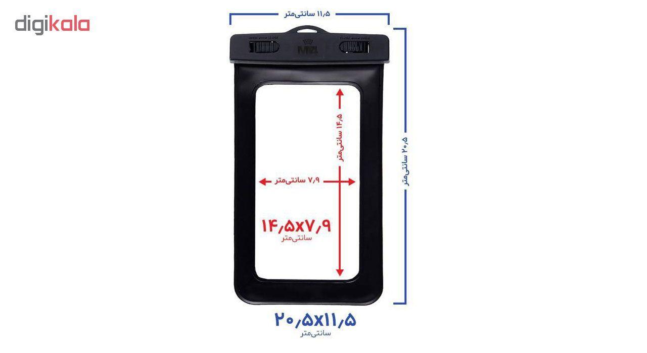 کیف ضد آب ام تی چهار مدل Diving مناسب برای گوشی موبایل تا سایز 6 اینچ  main 1 2