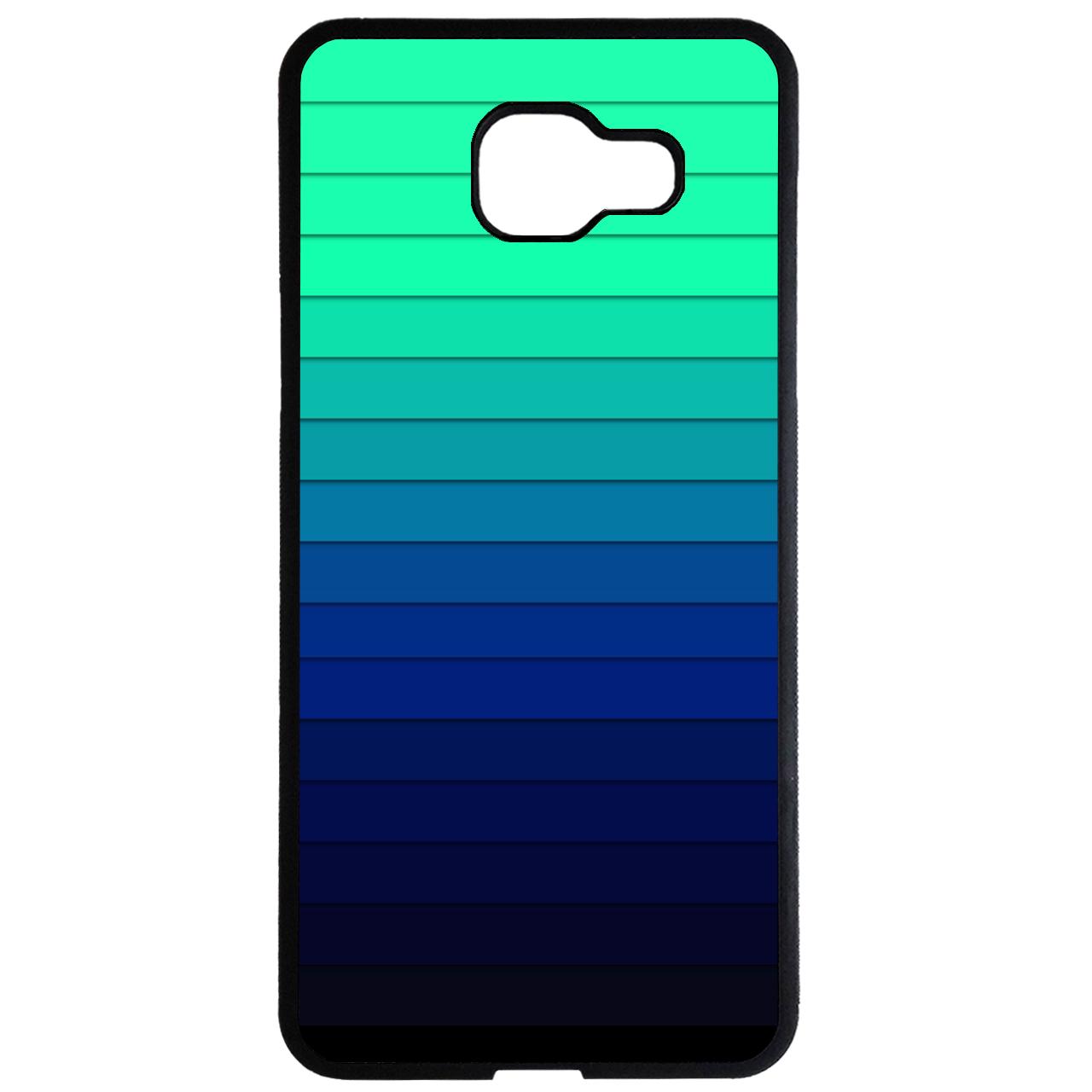 کاور طرح طیف رنگی آبی کد 1105408983 مناسب برای گوشی موبایل سامسونگ galaxy a7 2016