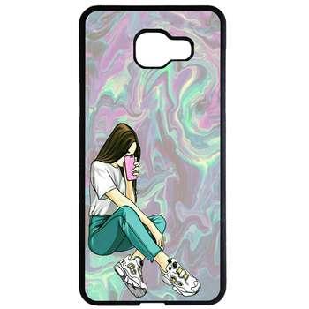 کاور طرح دختر کد 1105409015 مناسب برای گوشی موبایل سامسونگ galaxy a7 2016