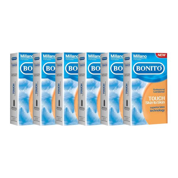 کاندوم بونیتو مدل Touch مجموعه 6 عددی