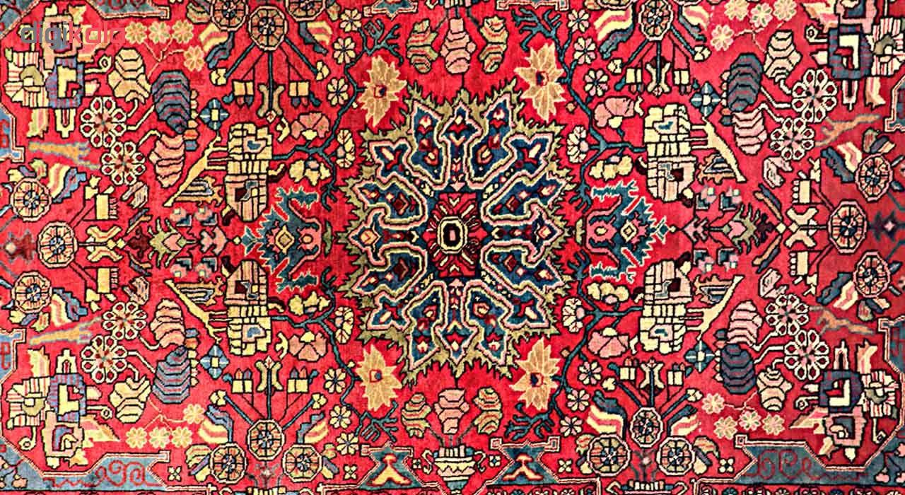 فرش دستباف چهار متری گالری نور کد H1826