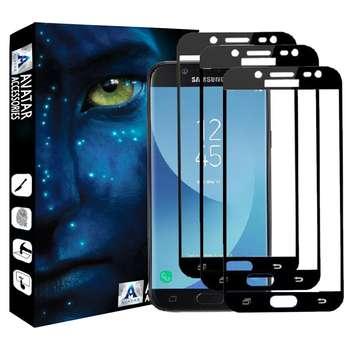 محافظ صفحه نمایش آواتار مدل SJ5-3PR مناسب برای گوشی موبایل سامسونگ سامسونگ Galaxy J5 pro بسته سه عددی