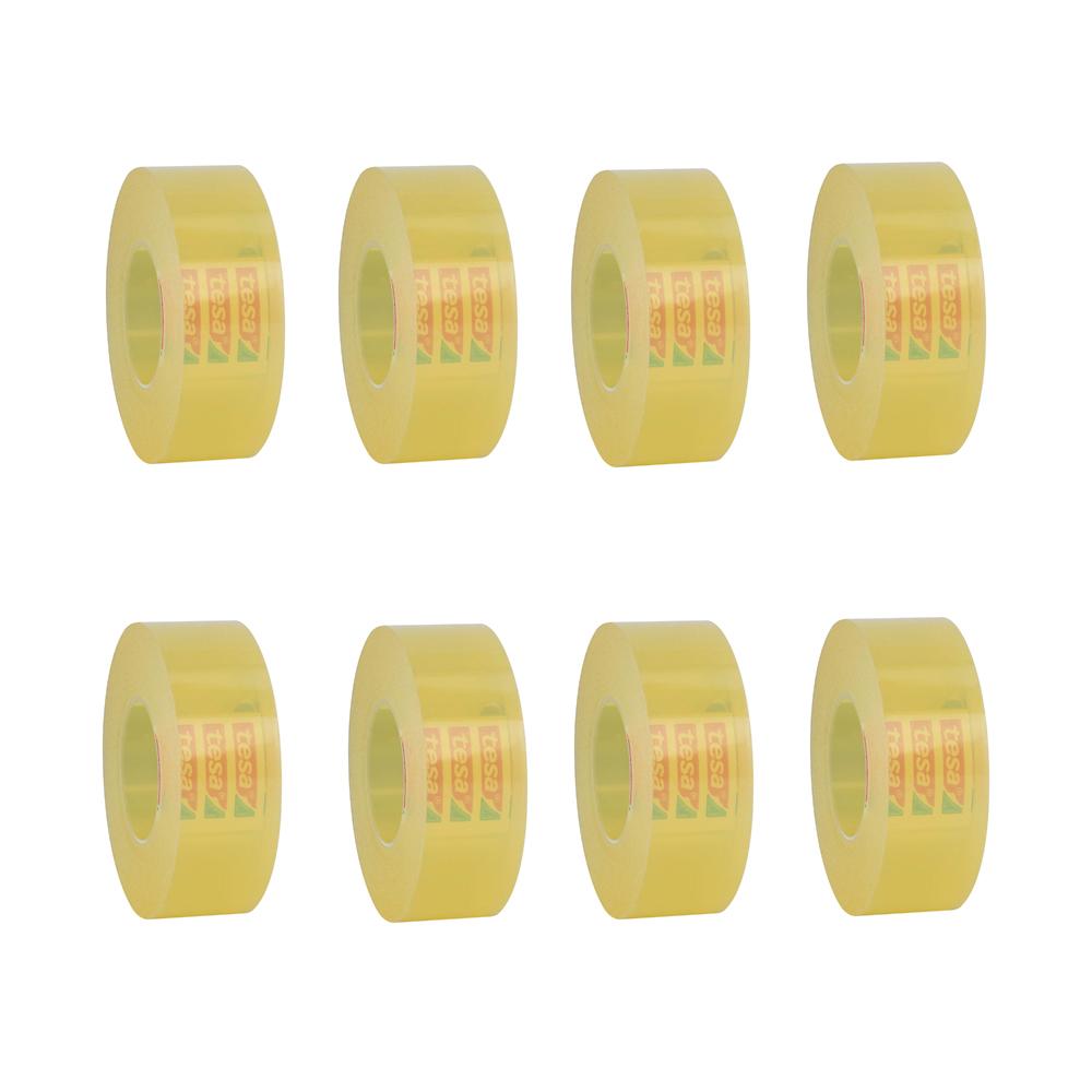چسب نواری تزا مدل 57405 عرض 1.9 سانتیمتر بسته 8 عددی