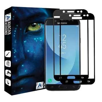 محافظ صفحه نمایش آواتار مدل SA3-16-2 مناسب برای گوشی موبایل سامسونگ Galaxy A3 2016 بسته دو عددی
