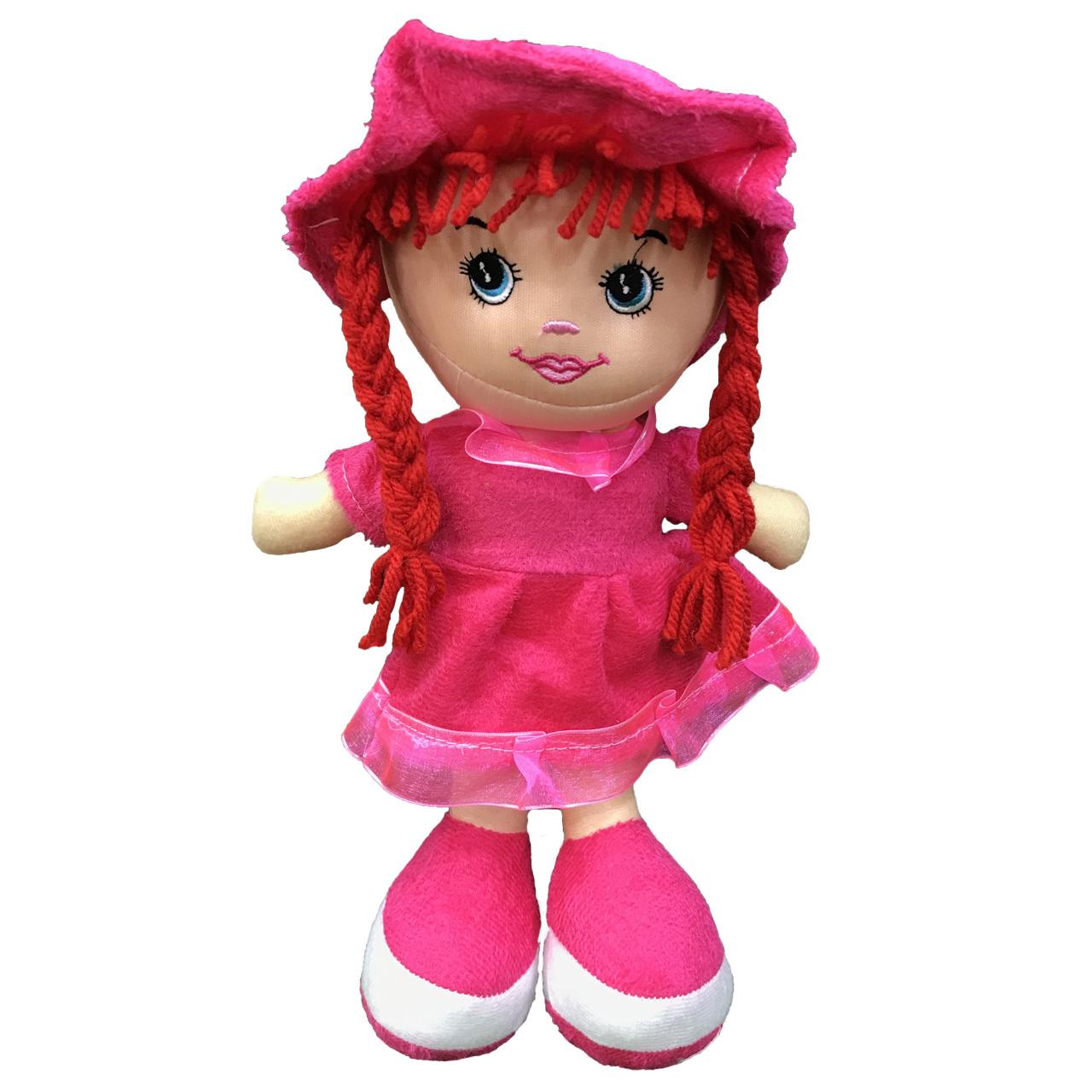 عروسک طرح دختر رومی L ارتفاع 35 سانتی متر