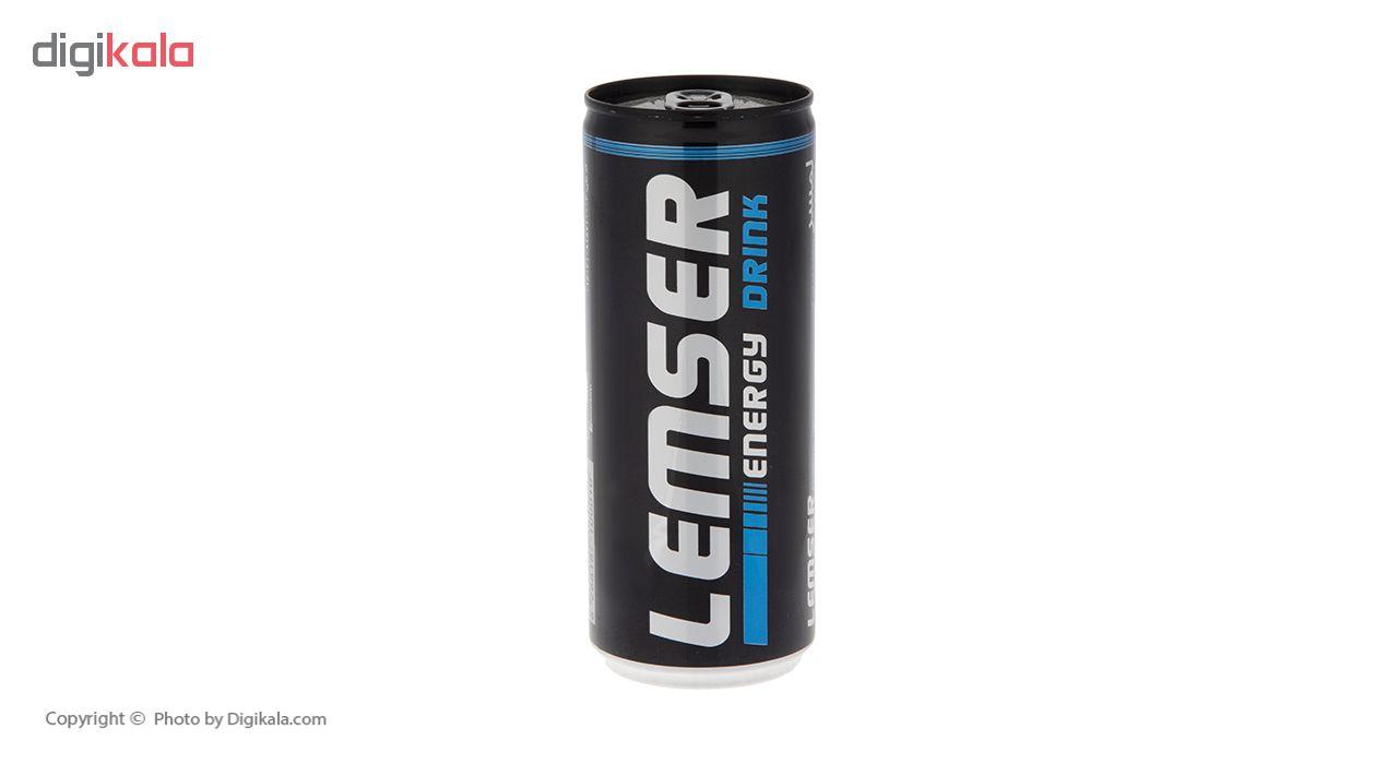 نوشیدنی انرژی زا لمسر حجم 250 میلی لیتر