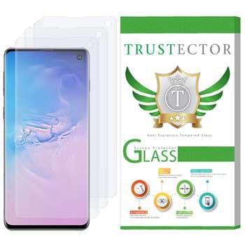 محافظ صفحه نمایش تراستکتور مدل GNF مناسب برای گوشی موبایل سامسونگ Galaxy S10 بسته 3 عددی