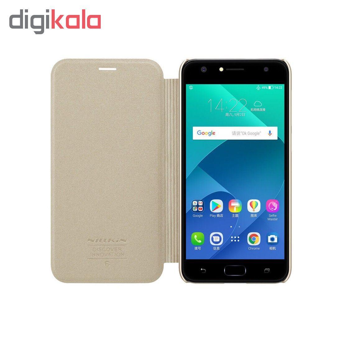کیف کلاسوری نیلکین مدل Sparkle مناسب برای گوشی موبایل ایسوس Zenfone 4 Selfie ZD553kl main 1 2
