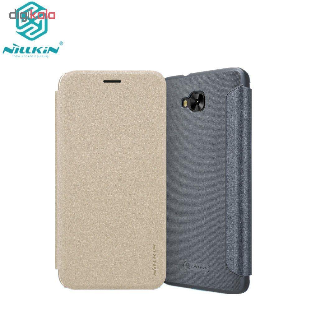 کیف کلاسوری نیلکین مدل Sparkle مناسب برای گوشی موبایل ایسوس Zenfone 4 Selfie ZD553kl main 1 3