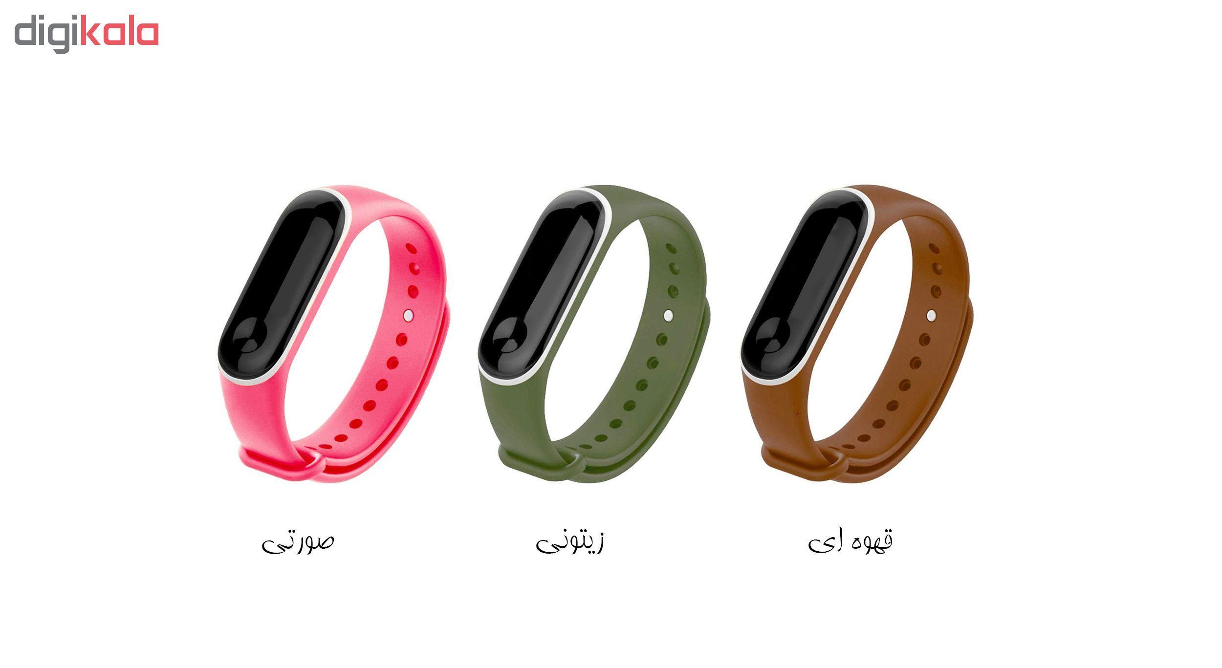 بند مچ بند هوشمند سومگ مدل SMG-S2 مناسب برای مچ بند هوشمند شیائومی Mi Band 3 و M3 main 1 9