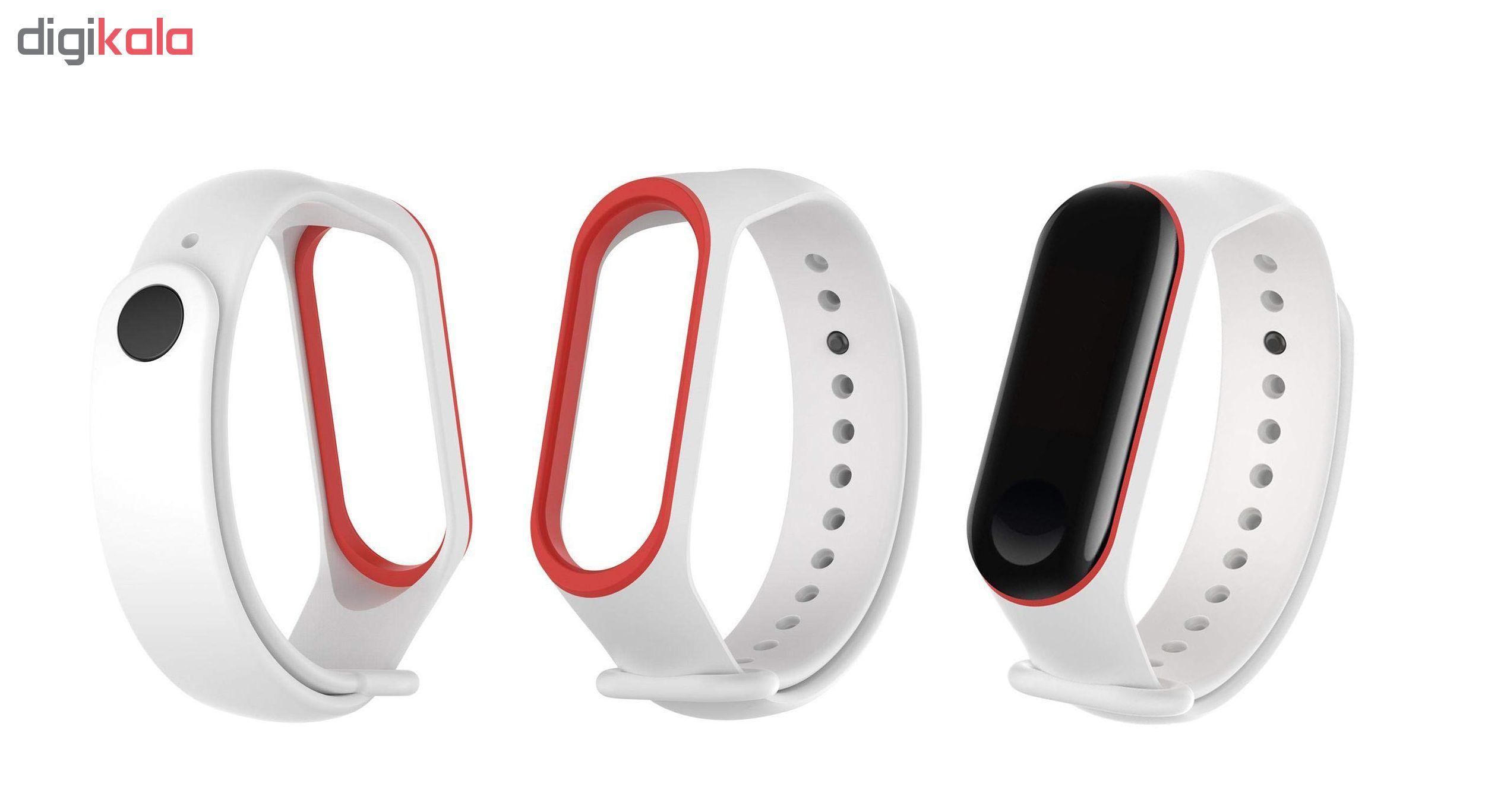 بند مچ بند هوشمند سومگ مدل SMG-S2 مناسب برای مچ بند هوشمند شیائومی Mi Band 3 و M3 main 1 8