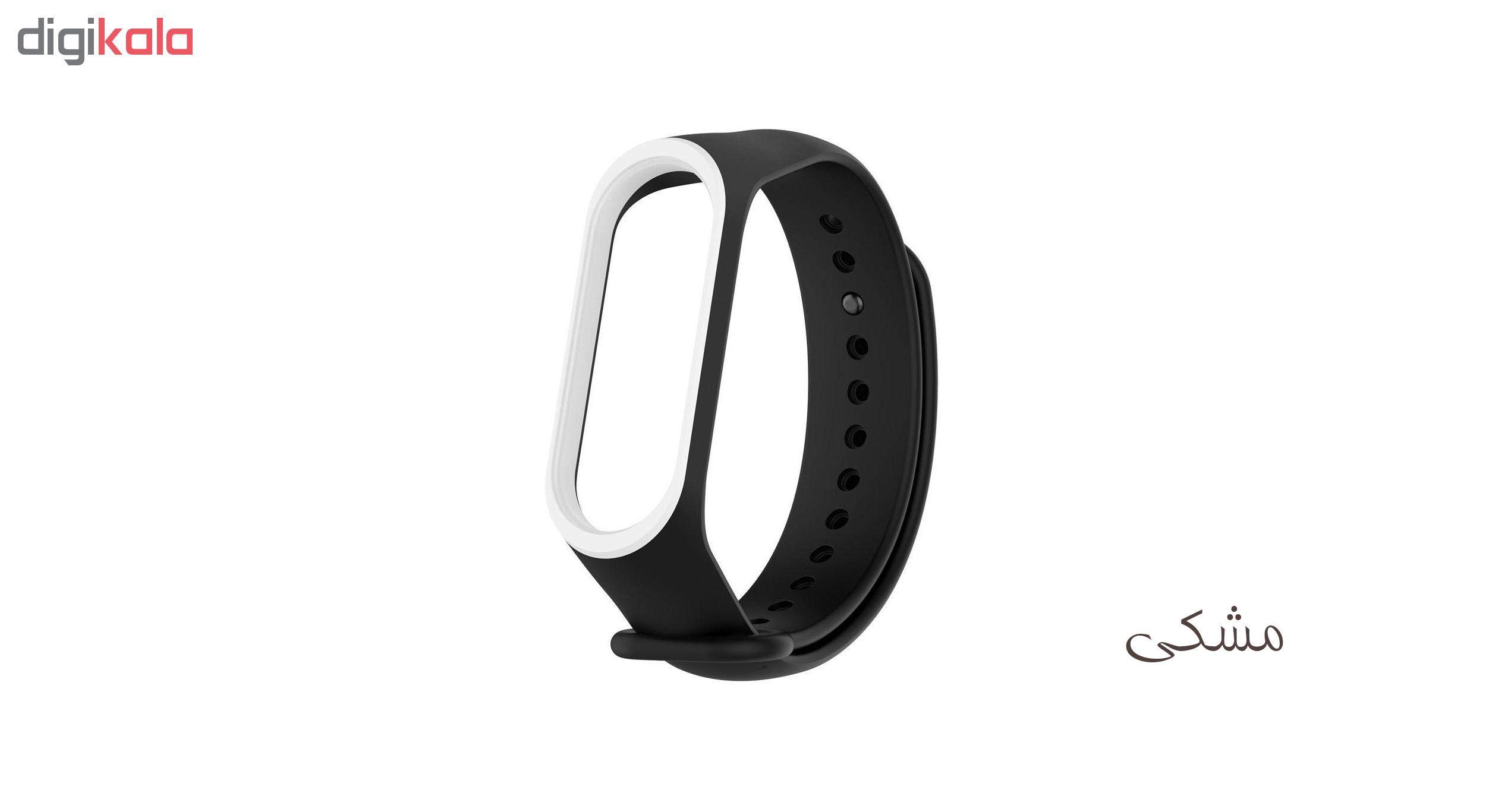 بند مچ بند هوشمند سومگ مدل SMG-S2 مناسب برای مچ بند هوشمند شیائومی Mi Band 3 و M3 main 1 2