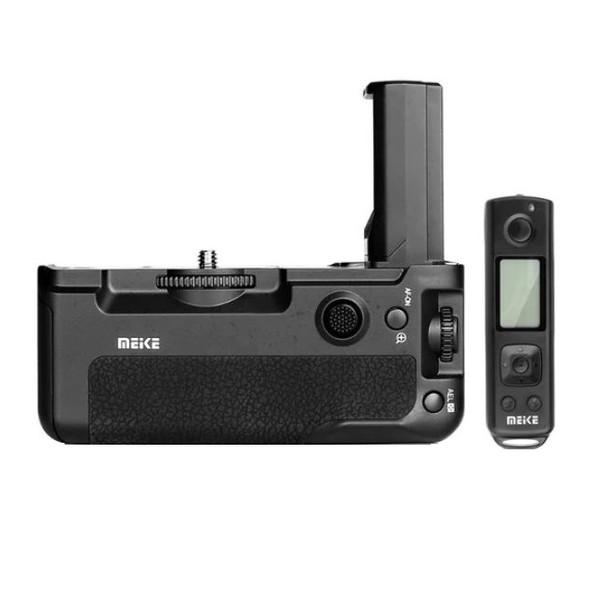 گریپ باتری دوربین مایک مدل Pro مناسب برای دوربین سونی A9 به همراه ریموت بی سیم