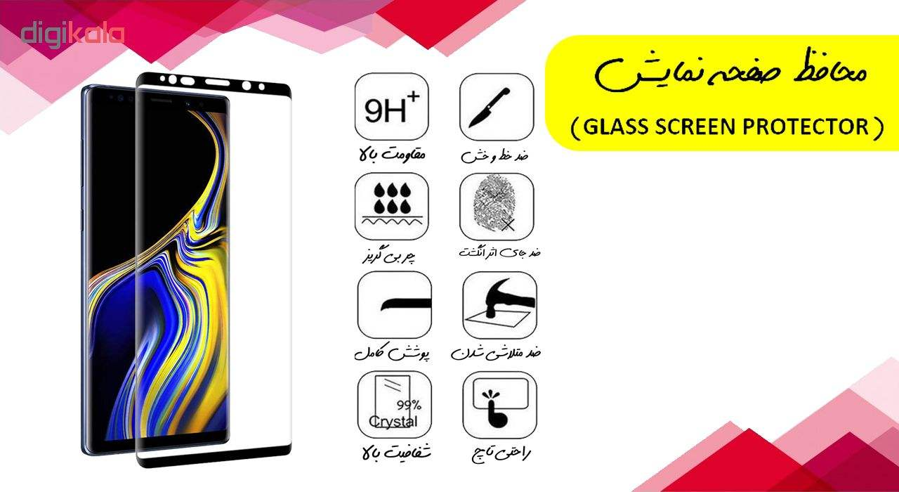 محافظ صفحه نمایش آواتار مدل SN8-3 مناسب برای گوشی موبایل سامسونگ Galaxy Note 8 بسته سه عددی main 1 1
