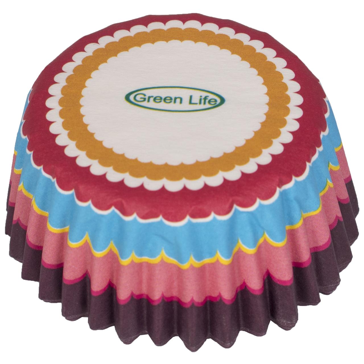 کپسول کاغذی کاپ کیک گرین لایف کد SH-318 بسته 30 عددی