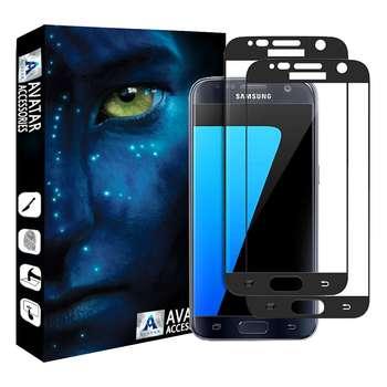 محافظ صفحه نمایش آواتار مدل SS-2 مناسب برای گوشی موبایل سامسونگ Galaxy S7 بسته دو عددی