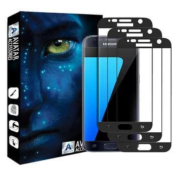 محافظ صفحه نمایش آواتار مدل SS6-3 مناسب برای گوشی موبایل سامسونگ Galaxy S6 بسته دو عددی
