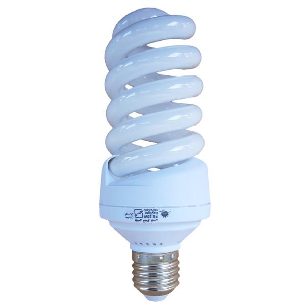 لامپ کم مصرف 30 وات پارس شعاع توس مدل FULL SPIRAL پایه E27