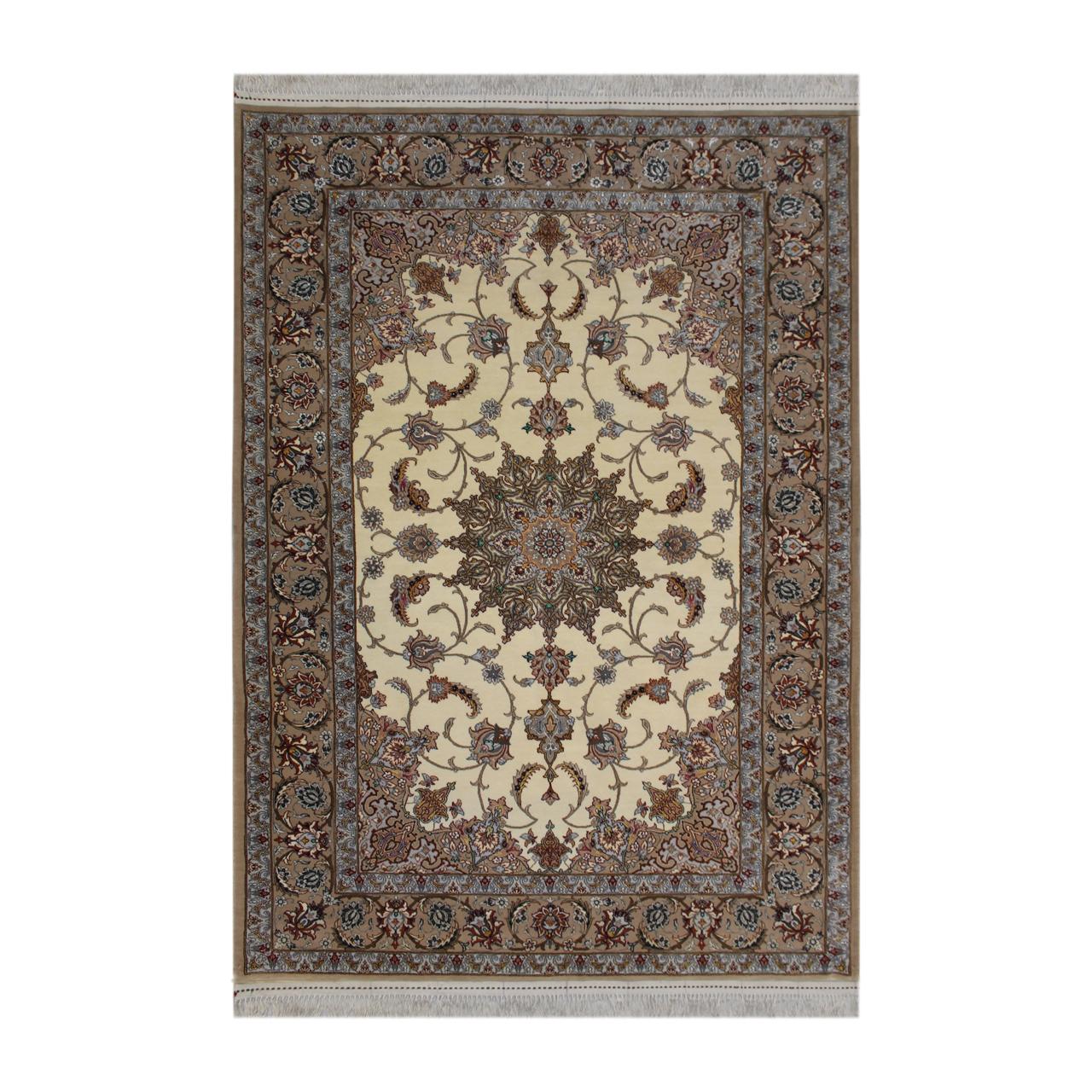 فرش  دستبافت  دو و نیم متری طرح اصفهان کد 1105692