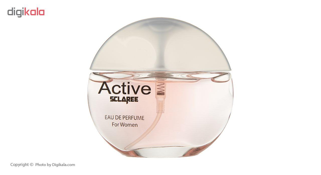 ادو پرفیوم زنانه اسکلاره مدل Active حجم 55 میلی لیتر  Sclaree Active Eau De parfum For Women 55ml