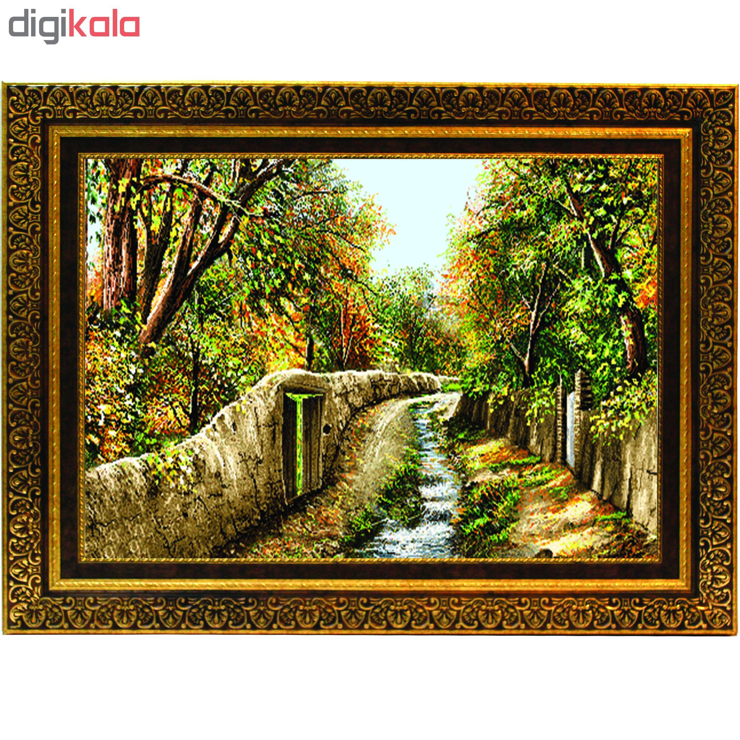 تابلو طرح کوچه باغ کد DM516
