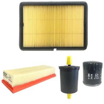فیلتر روغن خودرو آرو کد 50730 مناسب برای پژو پارس به همراه فیلتر کابین و فیلتر هوا و فیلتر سوخت