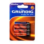 باتری نیم قلمی گروندیگ مدل Alkaline بسته 4 عددی thumb