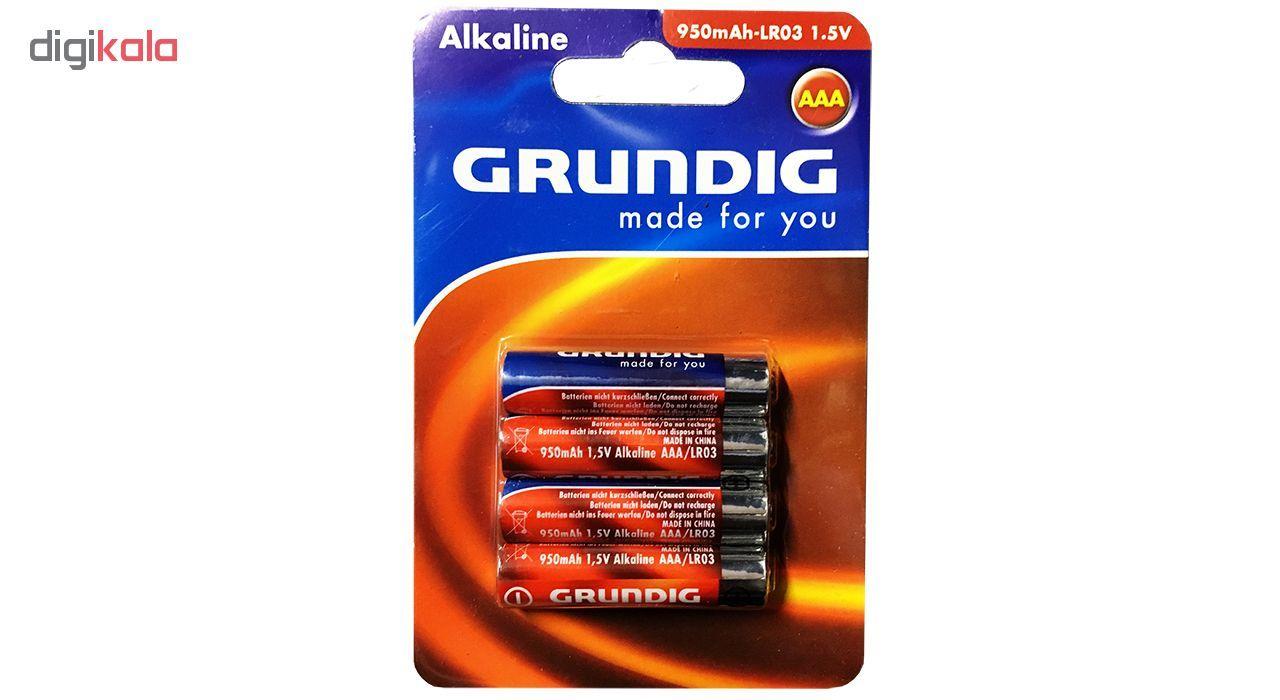 باتری نیم قلمی گروندیگ مدل Alkaline بسته 4 عددی main 1 1