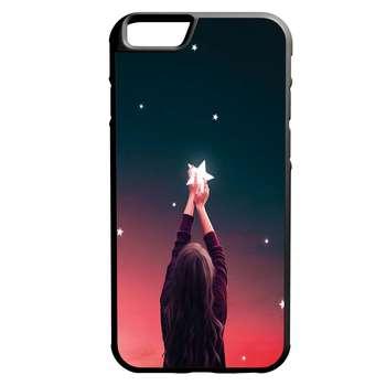 کاور طرح دختر کد 1105409021 مناسب برای گوشی موبایل اپل iphone 6/6s