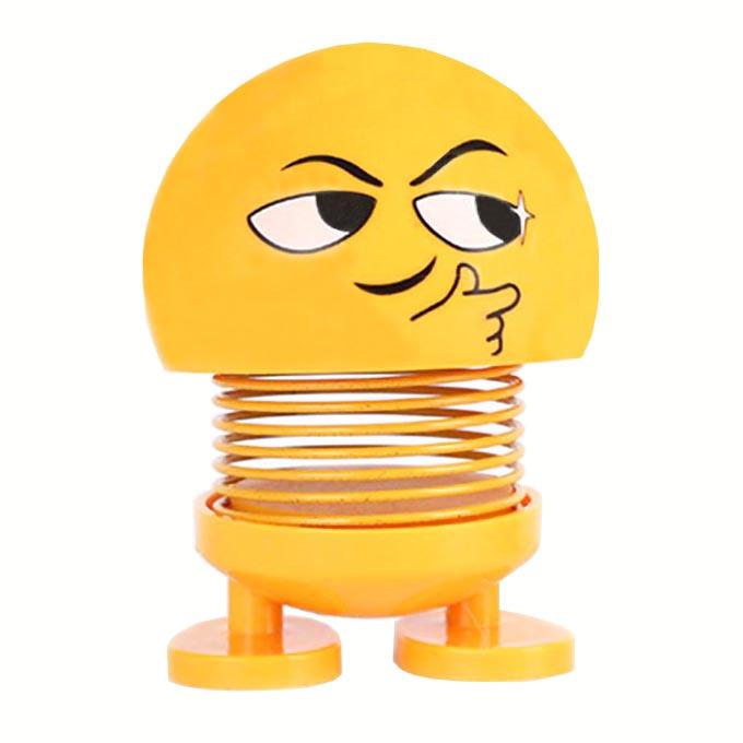 خرید اینترنتی                     عروسک فنری طرح ایموجی کد 04