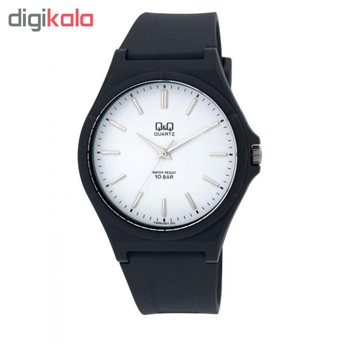 ساعت مچی عقربه ای مردانه کیو اند کیو مدل vq66j001y