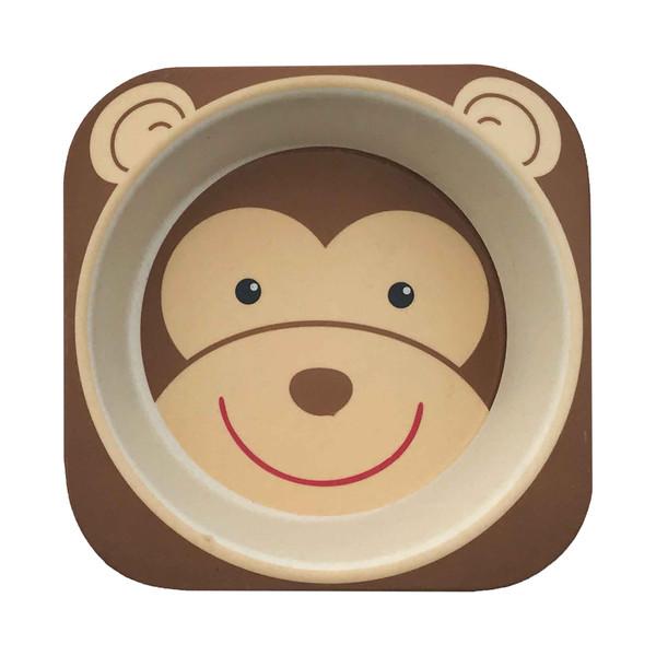 ظرف غذای کودک مدل Monkey