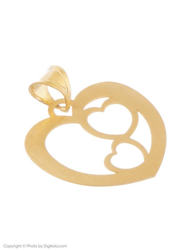آویز گردنبند طلا 18 عیار زنانه میو استار مدل N083