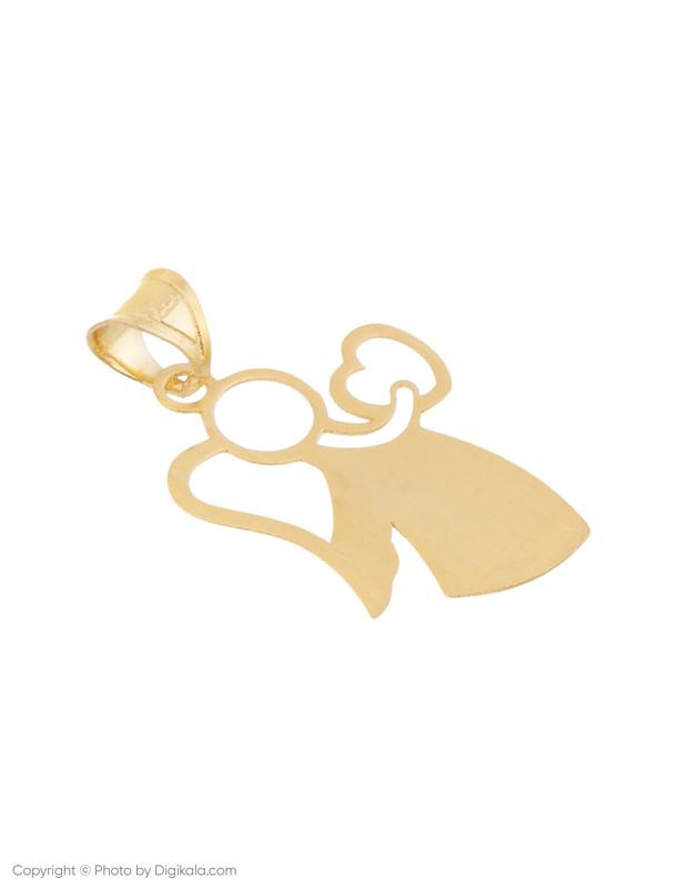 آویز گردنبند طلا 18 عیار زنانه میو استار مدل N120