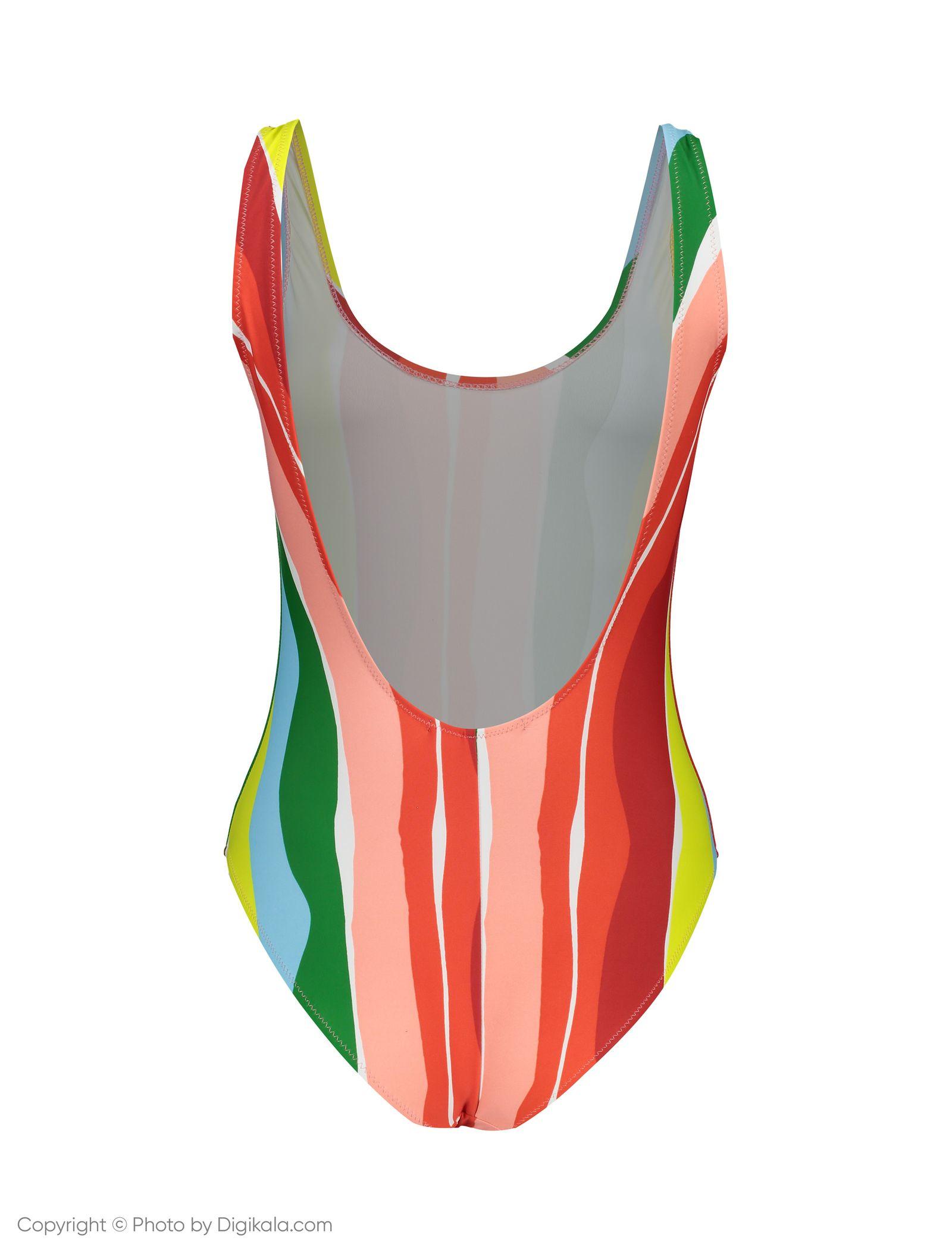 مایو یک تکه طرح دار زنانه - مانگو - چند رنگ - 3