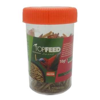 غذای پرنده تاپ فید مدل Meal Worm وزن 10 گرم