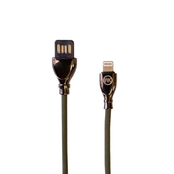 کابل تبدیل USB به لایتنینگ دبلیو کی مدل WDC-85 طول 1 متر