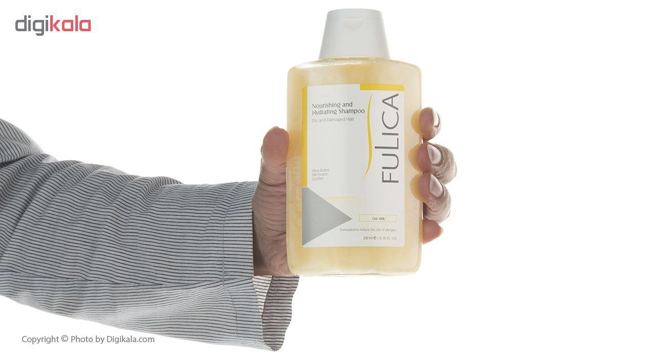 شامپو فولیکا مخصوص موهای خشک و آسیب دیده حجم 200 میلی لیتر main 1 7